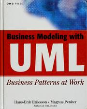 Business modeling with UML by Hans-Erik Eriksson