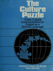 Cover of: The culture puzzle | Deena R. Levine