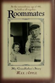 Cover of: Roommates | Max Apple