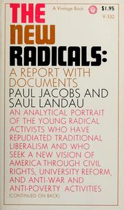 Cover of: The new radicals | Paul Jacobs