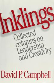Cover of: Inklings | David P. Campbell