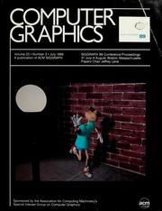 Cover of: SIGGRAPH '89 conference proceedings | Jeffrey Lane