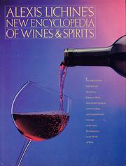 Cover of: Alexis Lichine's encyclopedia of wines & spirits