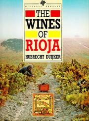 Cover of: The wines of Rioja