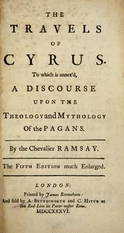 Cover of: The travels of Cyrus | Ramsay Chevalier