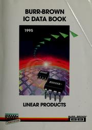 Cover of: Burr-Brown integrated circuits data book |