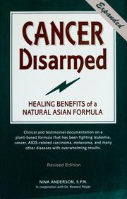 Cover of: Cancer disarmed | Anderson, Nina