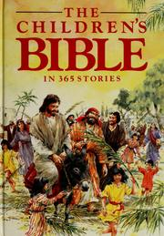The children's Bible in 365 stories (1985 edition) | Open Library