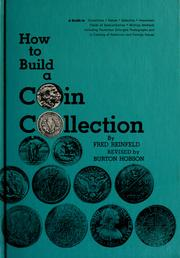 Cover of: How to build a coin collection | Reinfeld, Fred