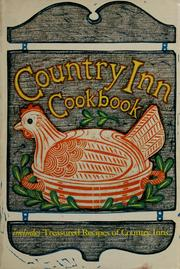 Cover of: Country inn cookbook |