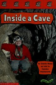 Cover of: Inside a cave | Gracie Moss