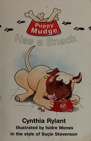 Cover of: Puppy Mudge has a snack | Jean Little
