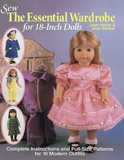 Cover of: Sew the essential wardrobe for 18-inch dolls