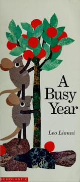 Cover of: A busy year | Leo Lionni