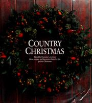 Cover of: Country Christmas |