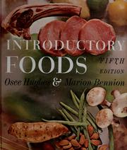 Cover of: Introductory foods | Osee Hughes