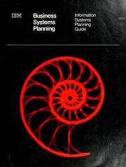 Cover of: Business systems planning |
