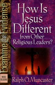 Cover of: How is Jesus different from other religious leaders?