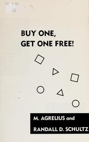 Cover of: Buy one, get one free | M. Agrelius