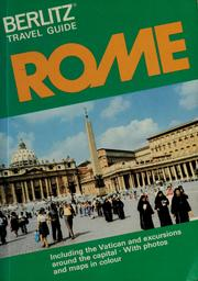 Cover of: Rome | Editions Berlitz S.A.