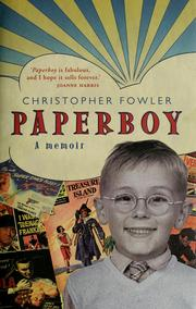 Cover of: Paperboy | Christopher Fowler