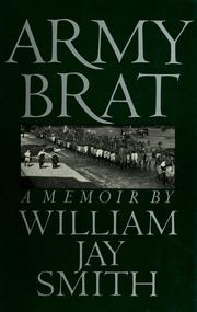 Cover of: Army brat | William Jay Smith