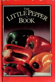 Cover of: The little pepper book by Michelle Berriedale-Johnson