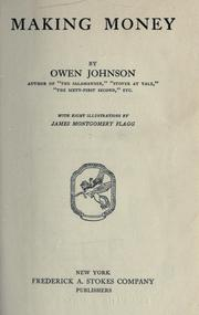 Cover of: Making money | Johnson, Owen