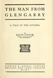Cover of: The man from Glengarry | Ralph Connor