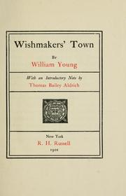 Cover of: Wishmakers' Town | William Young