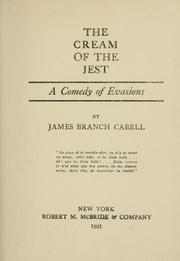 Cover of: The cream of the jest by James Branch Cabell
