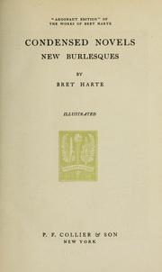 Cover of: Works. -- by Bret Harte