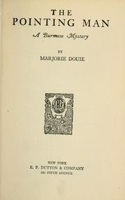 Cover of: the pointing man | Marjorie Douie