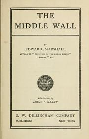 Cover of: The middle wall | Marshall, Edward