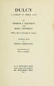 Cover of: Dulcy | George S. Kaufman