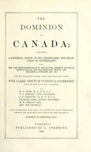 Cover of: The dominion of Canada | Hind, Henry Youle