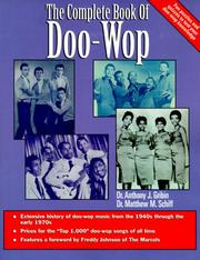 Cover of: The complete book of doo-wop