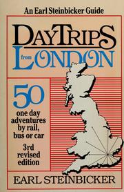 Cover of: Daytrips from London | Earl Steinbicker