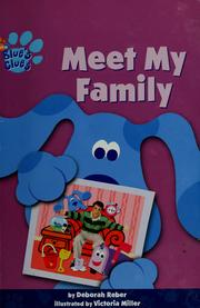 Cover of: Meet my family