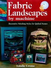 Cover of: Fabric Landscapes by Machine | Linda Crone