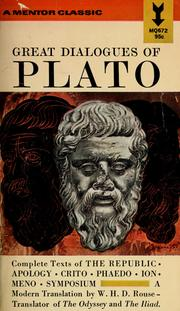 Cover of: Great Dialogues of Plato |