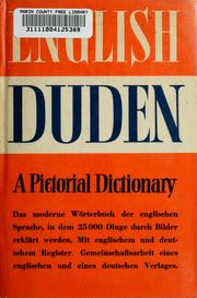 Cover of: The English Duden | Konrad Duden