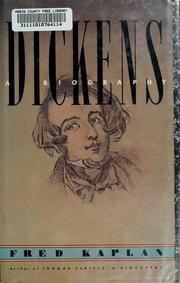 Cover of: Dickens | Kaplan, Fred