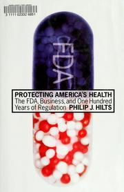 Cover of: Protecting America's Health | Philip J. Hilts