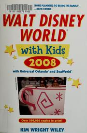 Cover of: Walt Disney World with kids, 2008 | Kim Wright