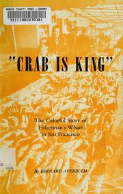 "Cover of: ""Crab is king"" by Bernard Averbuch"