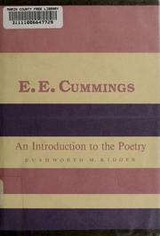 an analysis of the poems by edward estlin cummings Poetry analysis: -in just by eecummings the poem was written around 20th century by edward estlin cummings follow saicoyoru.