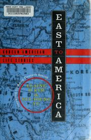 Cover of: East to America | [edited by] Elaine H. Kim, Eui-Young Yu.