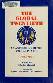 Cover of: The Global Twentieth | Chester Marshall