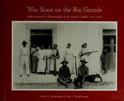Cover of: War scare on the Rio Grande | Frank N. Samponaro
